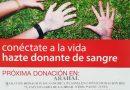 Maratón de donación de sangre y plasma